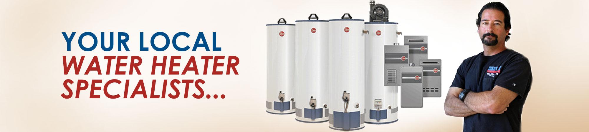 Water Heater Installation Design Air Inc Hot Thermostat Wiring Besides Tank