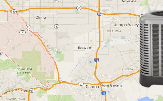 Air Conditioning and Heating Replacement in Chino Hills, California