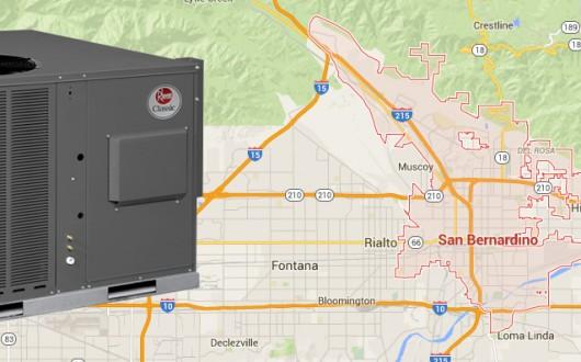 Residential AC Unit Installation San Bernardino, California